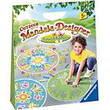 Outdoor Mandala-Designer® Flowers & Butterflies