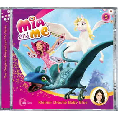 cd mia and me 05 kleiner drache baby blue mia me mytoys. Black Bedroom Furniture Sets. Home Design Ideas