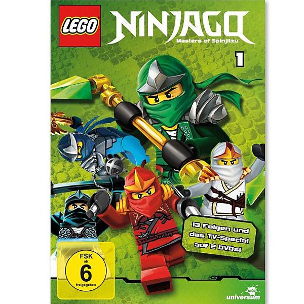 DVD LEGO Ninjago Staffel 1 (2 DVDs), LEGO Ninjago | myToys