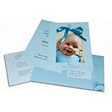 MyPaperSet Grußkarten zur Geburt: Blue Bear, 98-tlg.