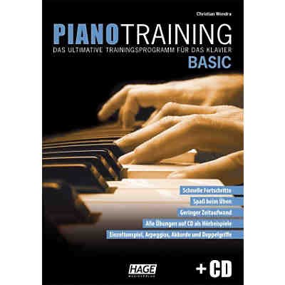 Piano Training Basic, mit Audio-CD