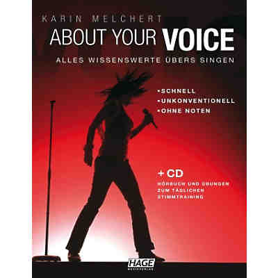 About Your Voice, mit Audio-CD