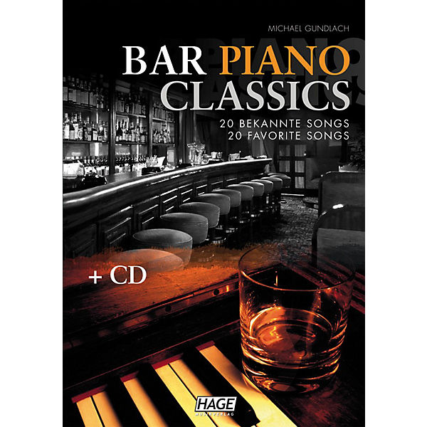 Bar Piano Classics, mit Audio-CD