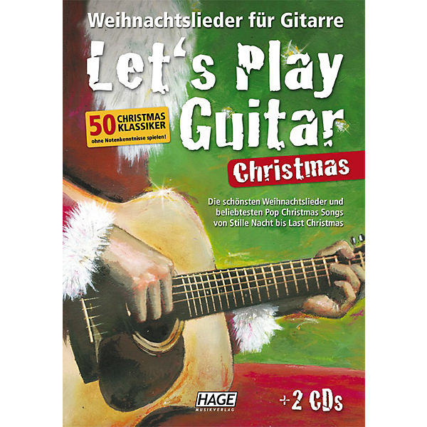 Let's Play Guitar - Christmas, mit 2 Audio-CDs