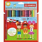 Набор цветных карандашей 24 цв.