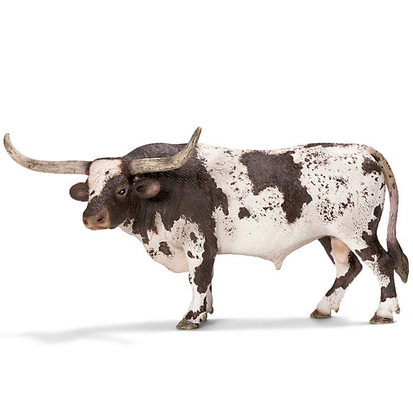 Schleich 13721 Farm World: Texas Longhorn Bulle