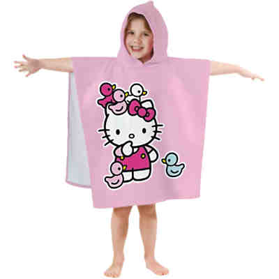Badeponcho Hello Kitty, Morgane, 60 x 120 cm