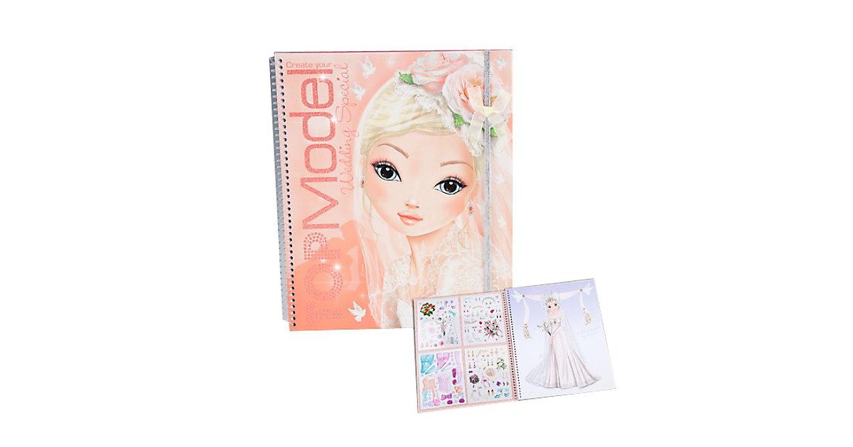 TOPModel Create your Wedding Malbuch
