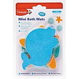 Мини-коврики против скольжения для ванной, Clippasafe, разноцв.