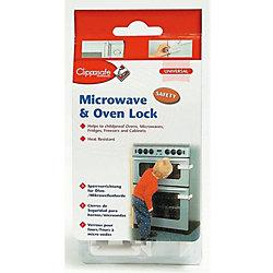 Защитный замок для микроволновой печи/духовки, Clippasafe