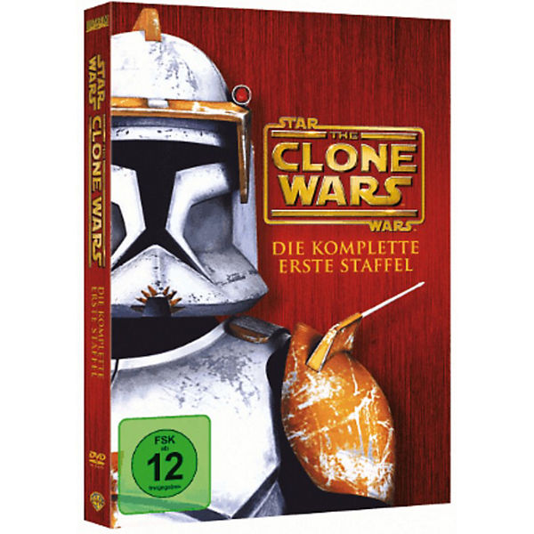 DVD Star Wars: The Clone Wars - Season 1 (4 DVDs)