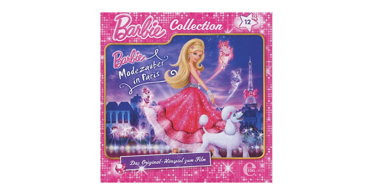 CD Barbie Collection 12 - Modezauber in Paris Hörbuch