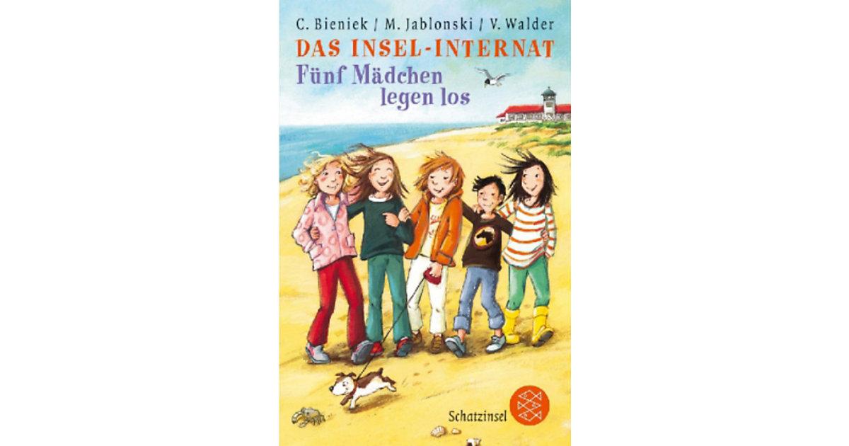 Buch - Das Insel-Internat, Fünf Mädchen legen los