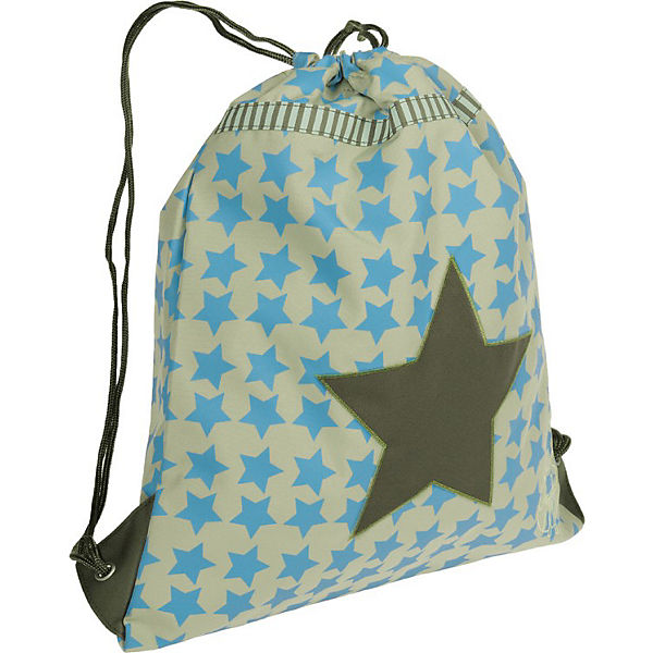 Sportbeutel 4kids, String Bag, Starlight oliv