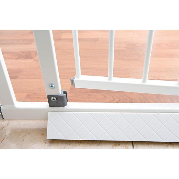 bodenplatte f r schutzgitter easy lock wei geuther mytoys. Black Bedroom Furniture Sets. Home Design Ideas