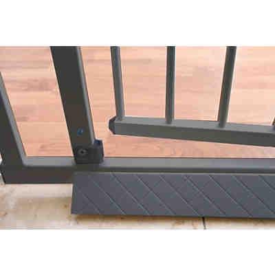 bodenplatte f r schutzgitter easy lock silberfarbig. Black Bedroom Furniture Sets. Home Design Ideas