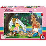Puzzle Bibi & Tina, Am Steinbruch, 150 Teile