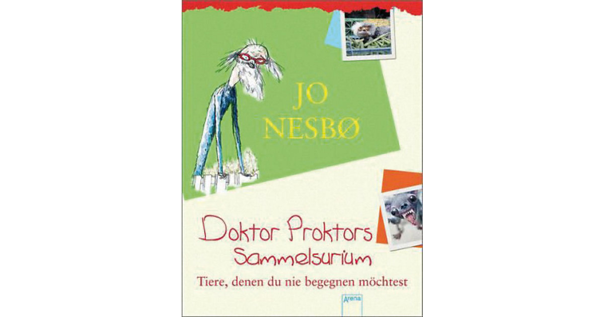 Buch - Doktor Proktors Sammelsurium