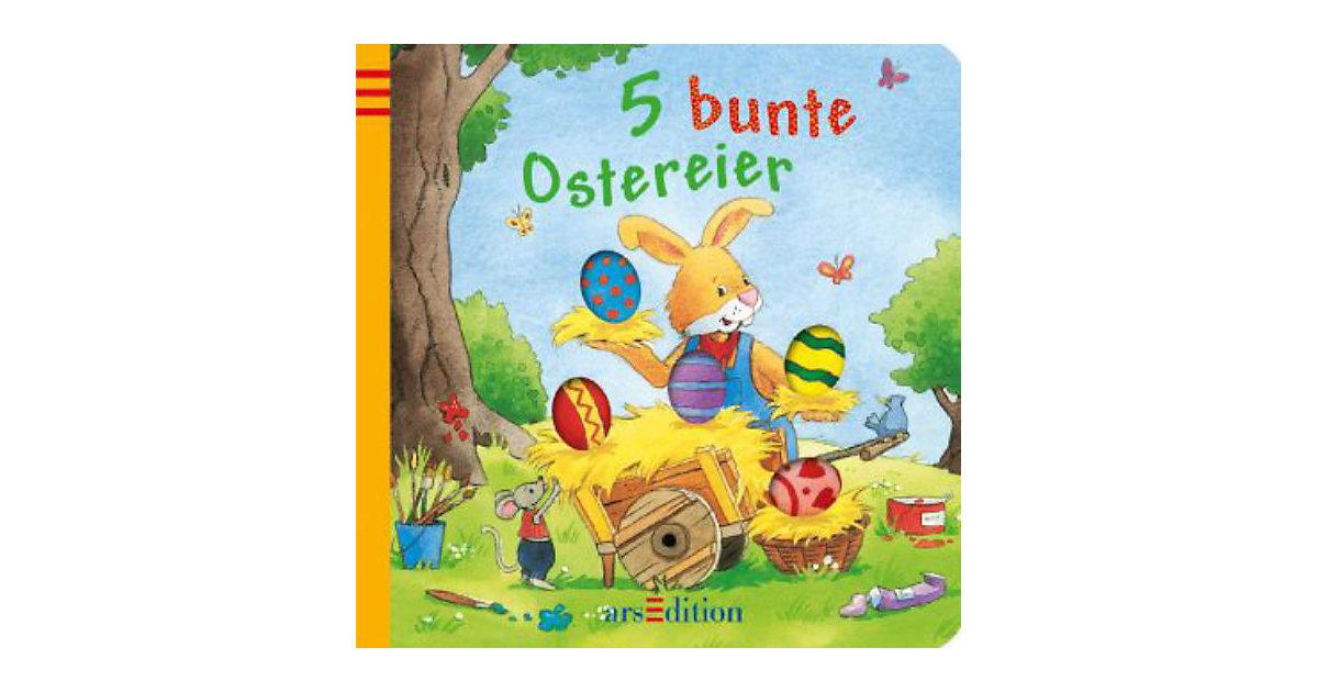 Buch - 5 bunte Ostereier