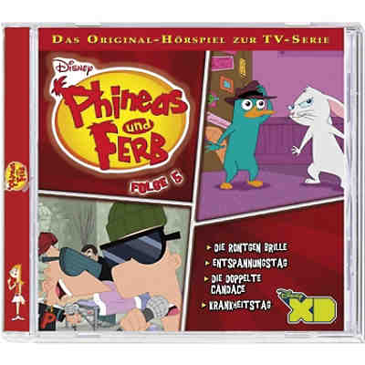 CD Phineas & Ferb 5