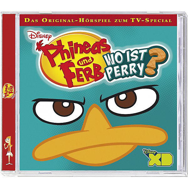 CD Phineas & Ferb 6 - Wo ist Perry?