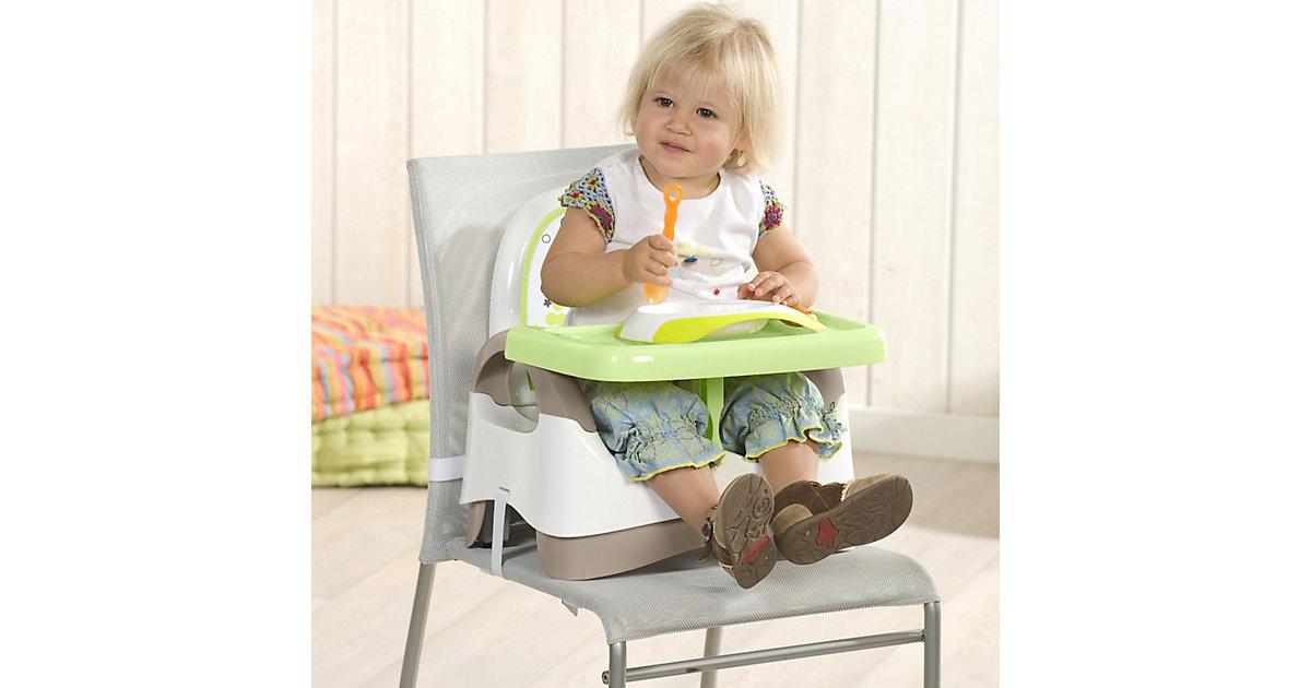 Babystuhlsitz, braun/mandelgrün