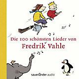 Die 100 schönsten Lieder von Fredrik Vahle, 4 Audio-CDs