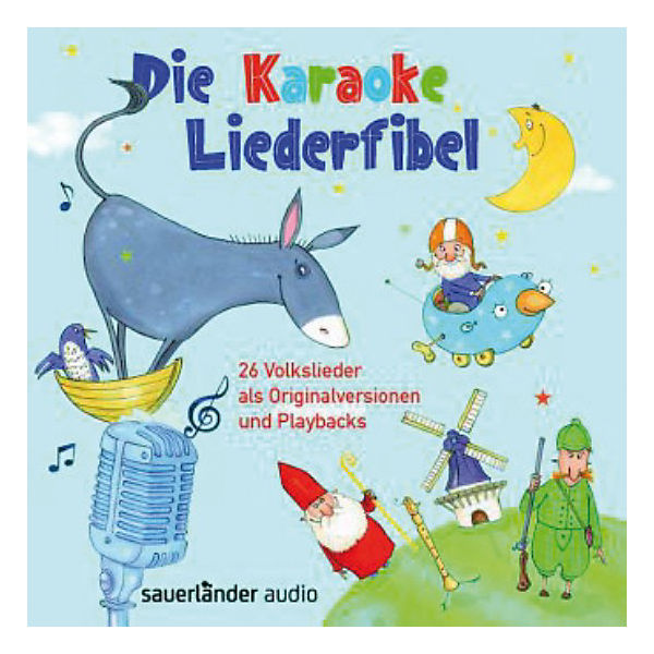 Die Karaoke-Liederfibel, 2 Audio-CDs