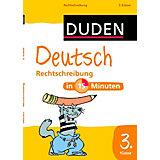 Duden Deutsch in 15 Minuten: Rechtschreibung 3. Klasse