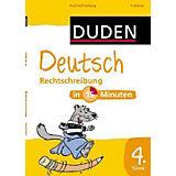 Duden Deutsch in 15 Minuten: Rechtschreibung, 4. Klasse