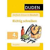 Duden Einfach klasse in Deutsch, Übungsblock: Richtig schreiben, 4. Klasse