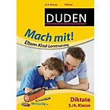 Duden Mach mit! Eltern-Kind-Lerntraining: Diktate, 3./4. Klasse