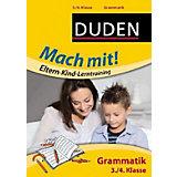 Duden Mach mit! Eltern-Kind-Lerntraining: Grammatik, 3./4. Klasse