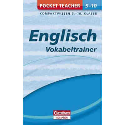 Pocket Teacher Englisch: Vokabeltrainer 5.-10. Klasse