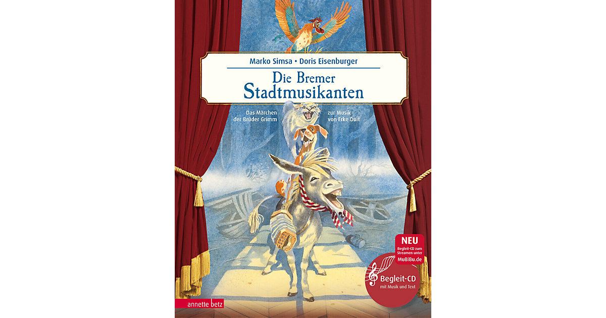 Buch - Die Bremer Stadtmusikanten, mit Audio-CD
