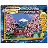 Malen nach Zahlen Premium - Japanische Kirschblüte, 30x40 cm