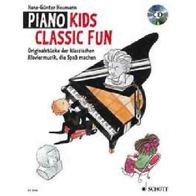 Piano Kids, Classic Fun, mit Audio-CD