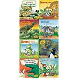 Pixi Bücher: Bei Pixi sind die Dinos los, 8 Hefte