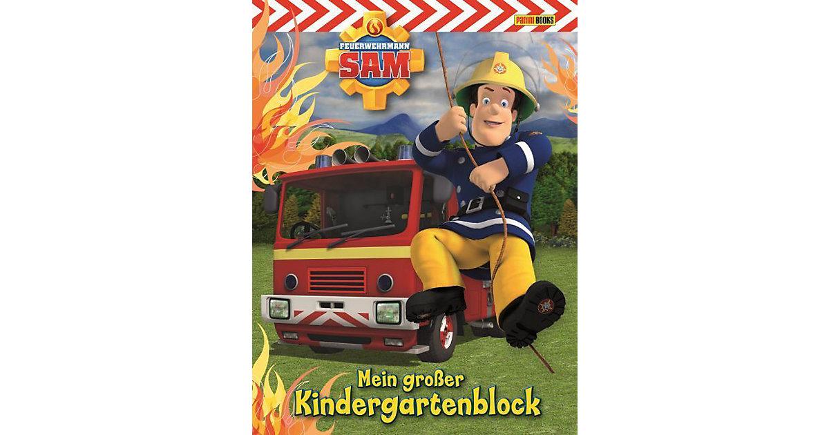 Buch - Feuerwehrmann Sam: Kindergartenblock