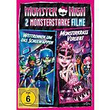 DVD Monster High - 2 Monsterstarke Filme Vol. 1 (Wettrennen um das Schulwappen & Monsterkrass verliebt)