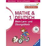 Mein Lern- und Übungsblock Mathe & Deutsch 1. Klasse