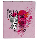 Rebecca Bonbon Ringbuch A4, rosé