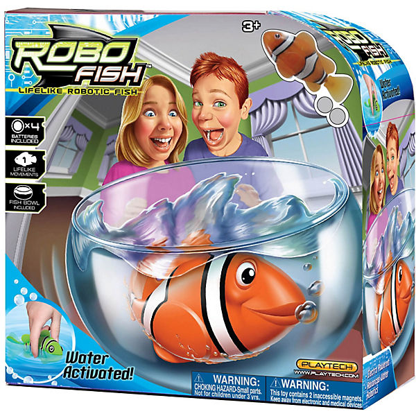 "РобоРыбка ""Клоун"" с аквариумом, RoboFish"