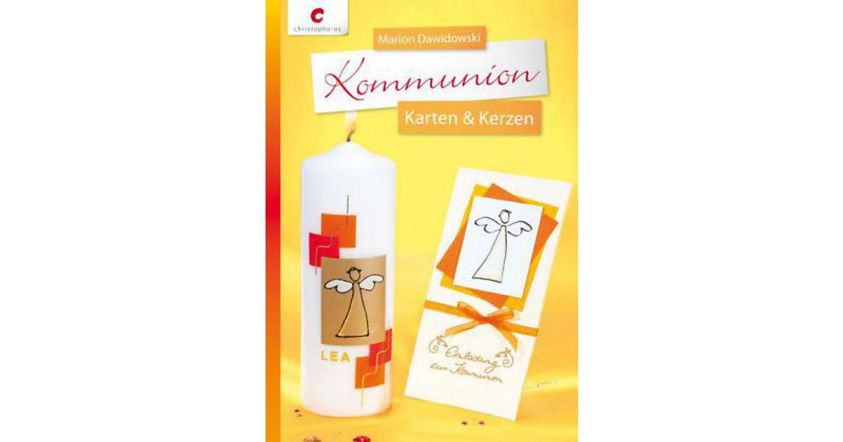 Buch - Kommunion - Karten & Kerzen