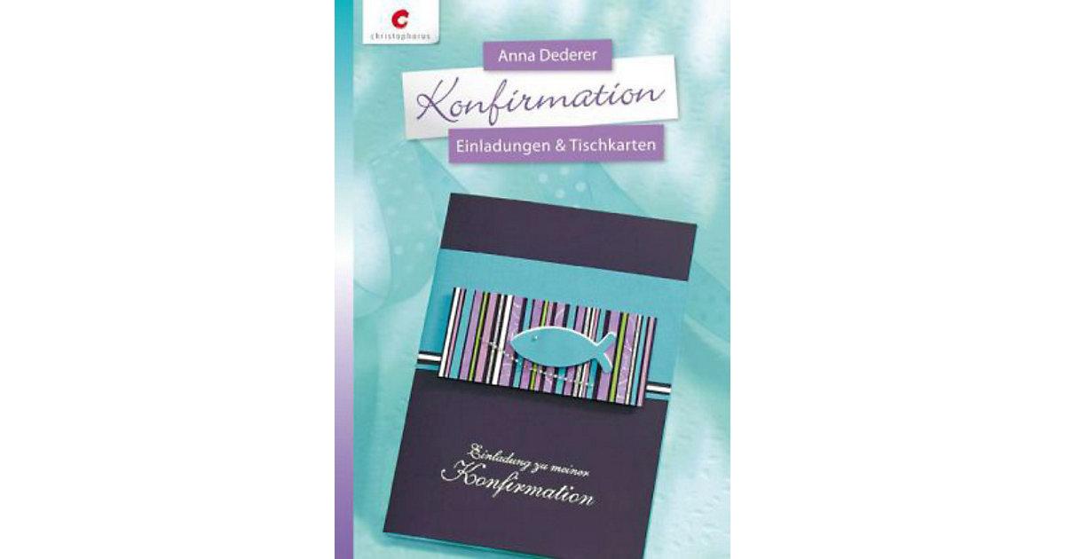Buch - Konfirmation - Einladungen & Tischkarten