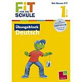 Fit für die Schule: Übungsblock Deutsch, 1. Klasse