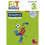 Fit für die Schule: Übungsblock Deutsch, 3. Klasse