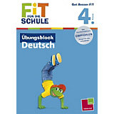 Fit für die Schule: Übungsblock Deutsch, 4. Klasse