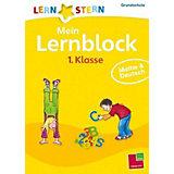 Lernstern Mein Lernblock 1. Klasse: Mathe & Deutsch