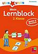 Lernstern Mein Lernblock 2. Klasse: Mathe & Deutsch